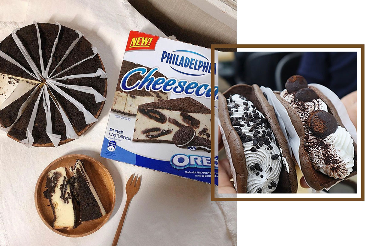 3 chocolate desserts that are sold in Korea convenient store