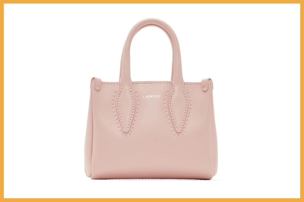 Lanvin Pink Micro Journée Bag