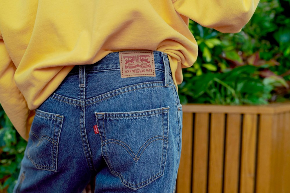 stranger things levis collabration product 1980s denim