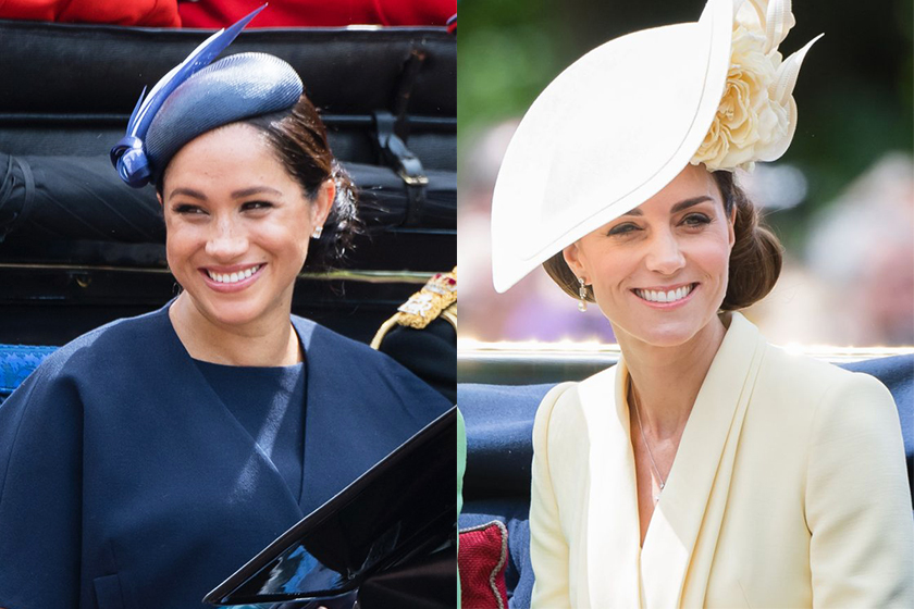meghan-markle-kate-middleton-trooping-the-colour-2019
