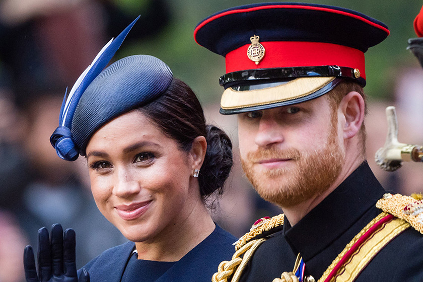 meghan-markle-prince harry-trooping-the-colour-2019