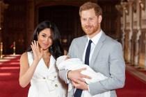 哈里王子和梅根兒子 Archie 正面照曝光,渾圓雙眼看起來非常精靈!