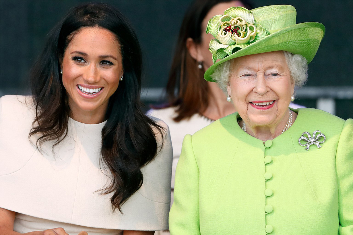 Queen Elizabeth Celebrate Meghan Markle's Birthday