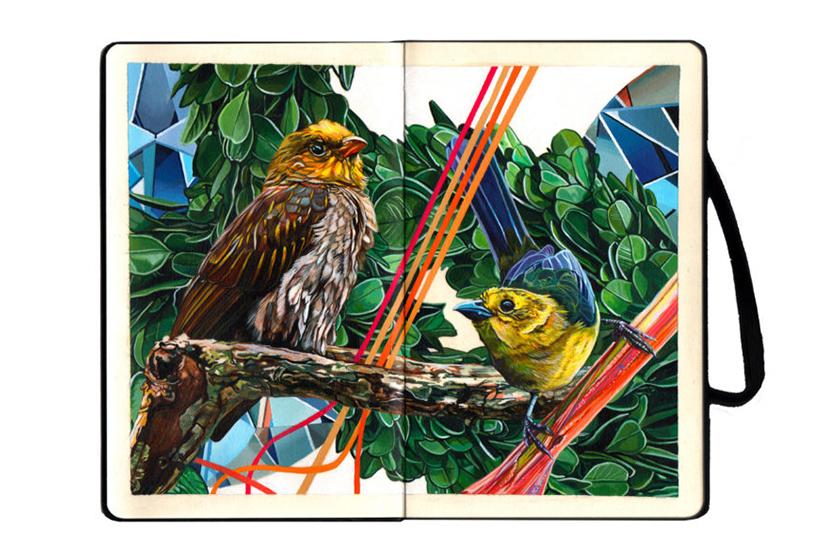 Moleskine Project Featuring Artists Notebooks Art