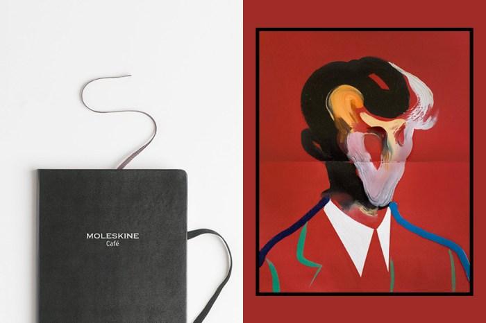一窺藝術家的筆記本:這些 Moleskine 手帳根本是流動畫廊!