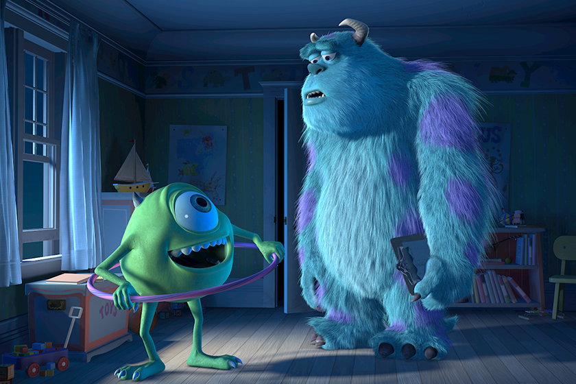 Monsters Inc series monsters at work tylor tuskmon eager talented mechanic