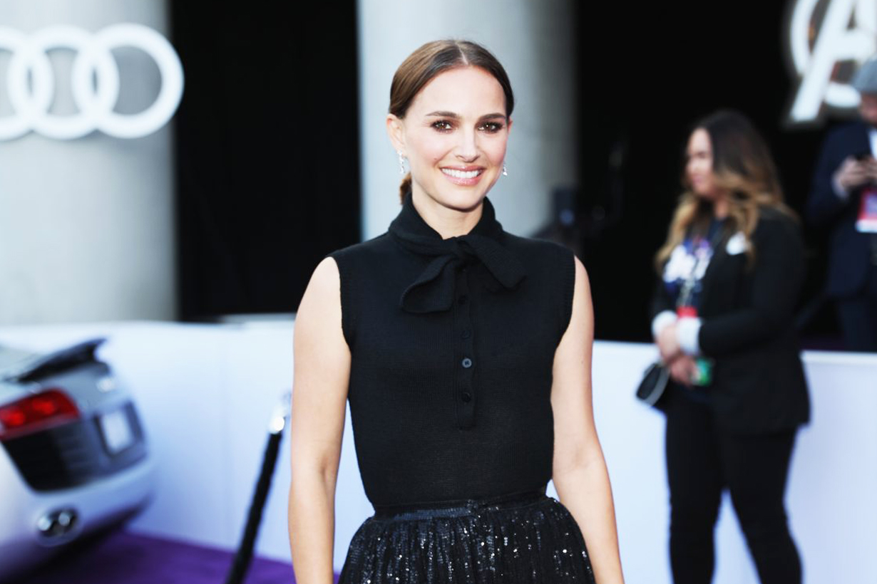 Natalie Portman 38 years old skincare exercises body care body training diet tips celebrities fitness skincare stay young glowy hollywood actresses Vox Lux Avengers EndGame