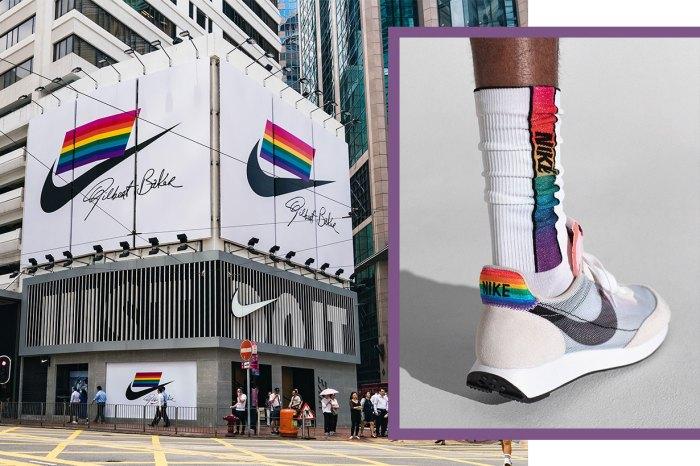 Nike 銅鑼灣掛起彩虹旗,支持創建性向、身份和表達多元化的社區