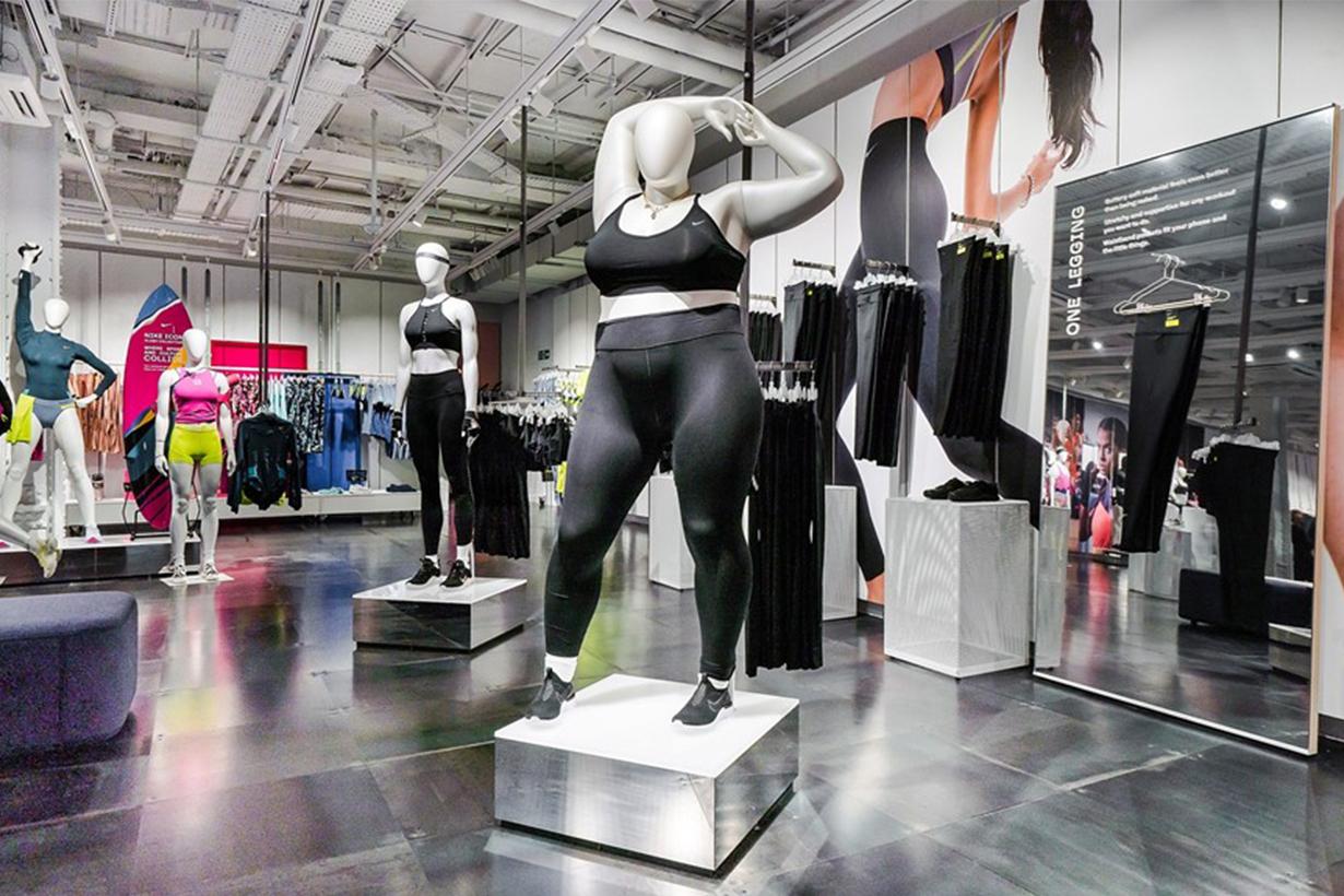 Nike's plus-size mannequin
