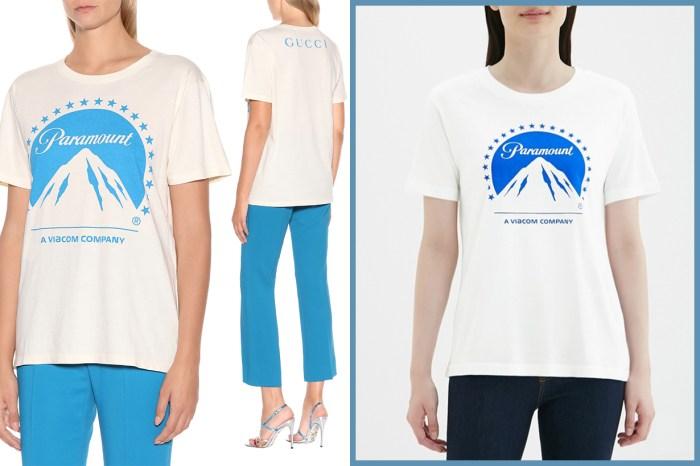 GUCCI 與 GU 撞款了?兩件 T-shirt 設計相似,價錢卻相差 4,800 港元!