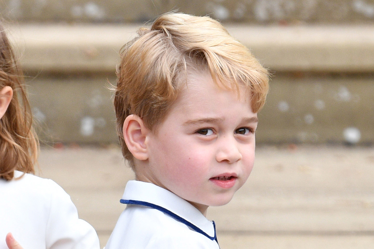 Prince George Helps Carry in Kate Middleton's Grocery Delivery in Norfolk
