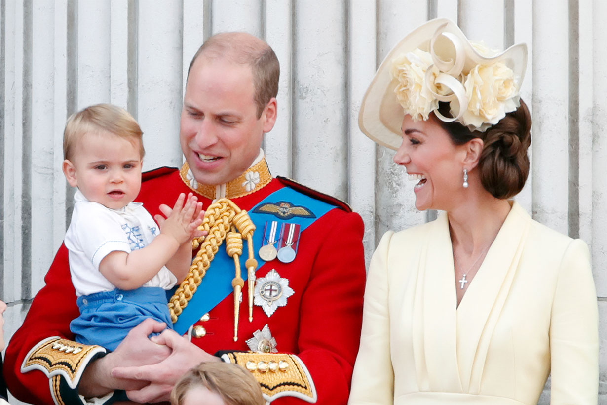 Prince Louis Debuted His Royal Wave This Morning and It's the Best Thing I've Ever Seen