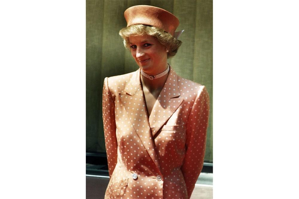 Princess Diana Catherine Walker Dress 1988