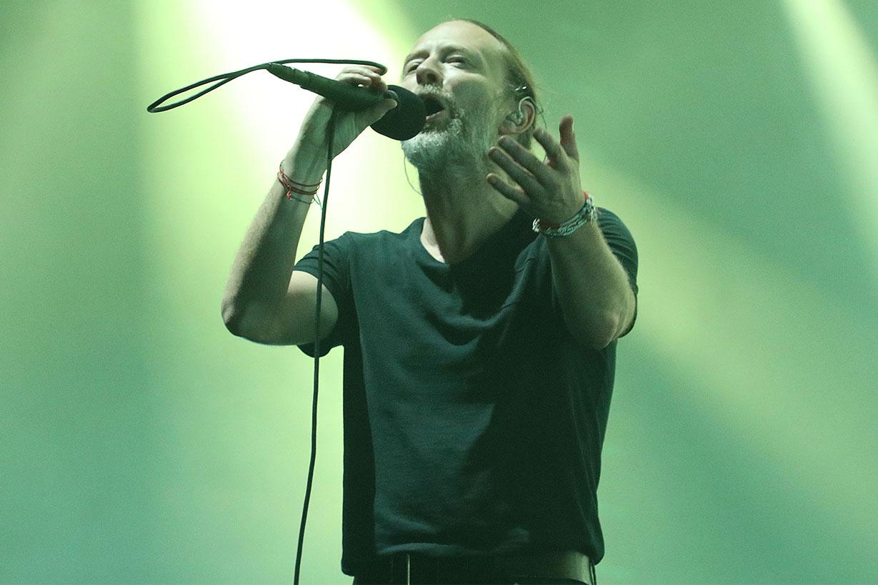 Radiohead Thom Yorke blackmail hackers