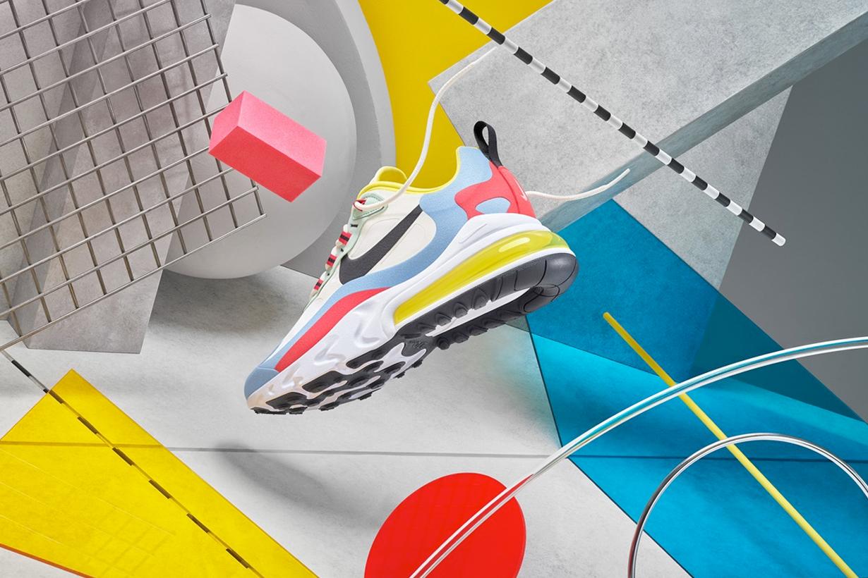 nike air max 270 react sneakers new july