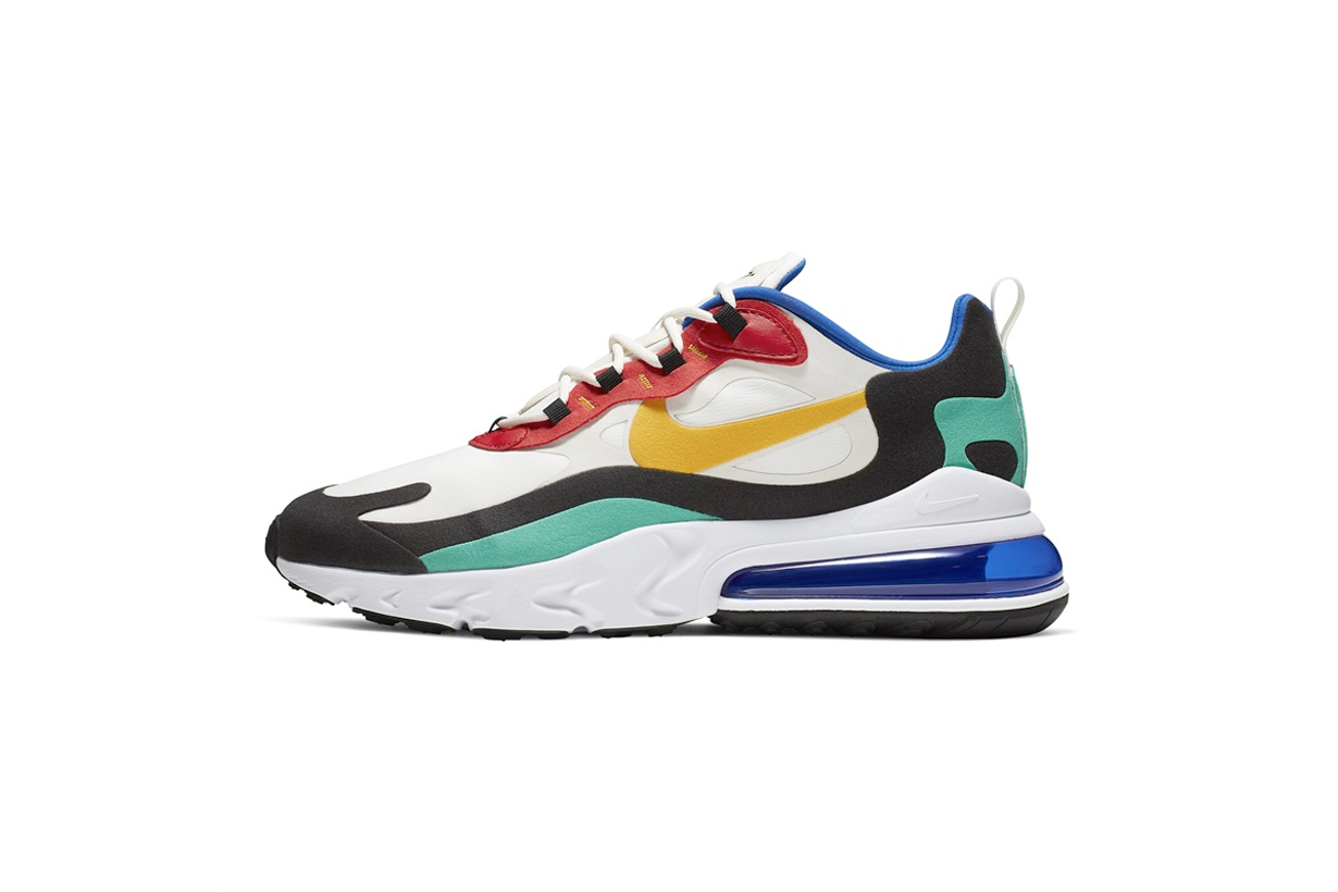 nike air max 270 react sneakers new july