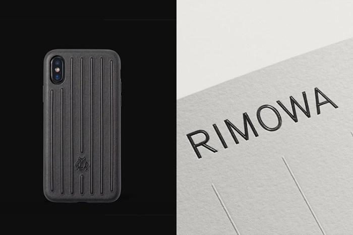 黑色控必收:Rimowa 再次推出手機殼,不過換成這個材質你買單嗎?