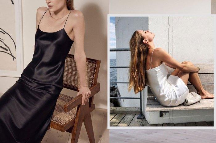 倫敦新出爐小眾品牌,推出極簡 slip dress 讓很多潮人也在搶:「美得剛好。」