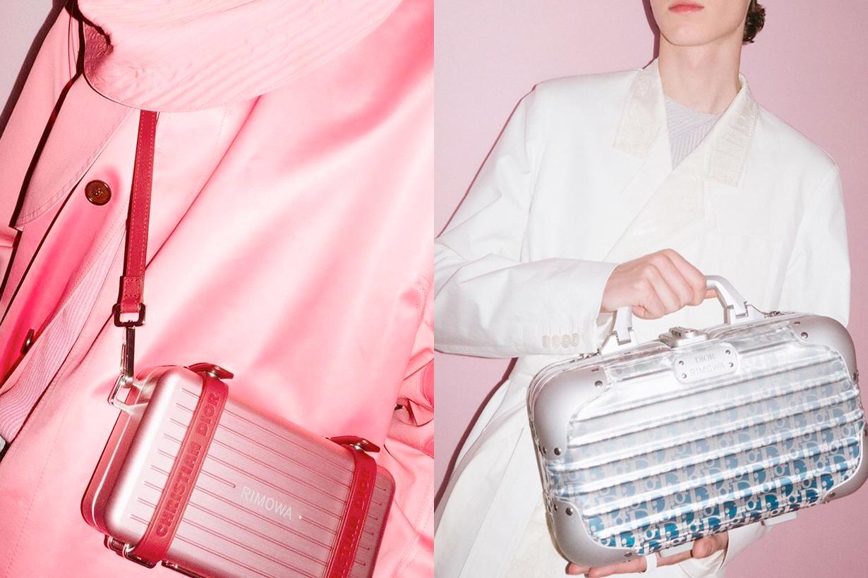 rimowa dior men kim jones yoon case handbags men fashion week