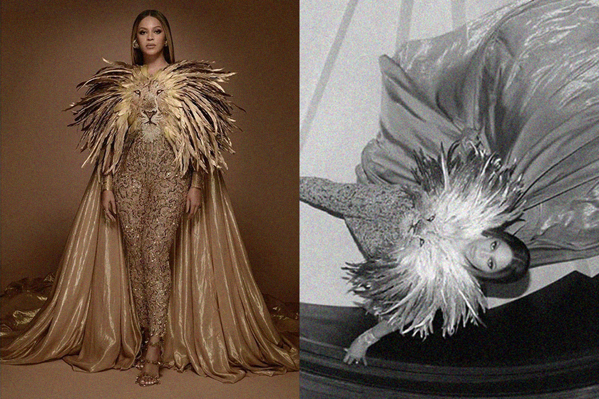 Beyoncé The Lion King Wearable Art Gala