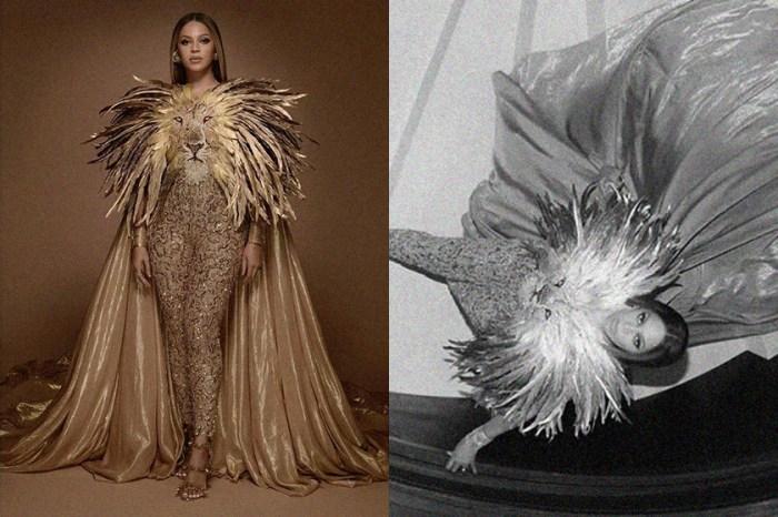 Beyoncé 與真人版《獅子王》關係密切,日前這一身華麗禮服引起熱議!