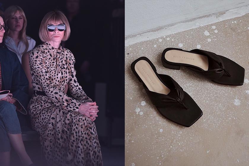 Anna wintour talk about flip flops trend