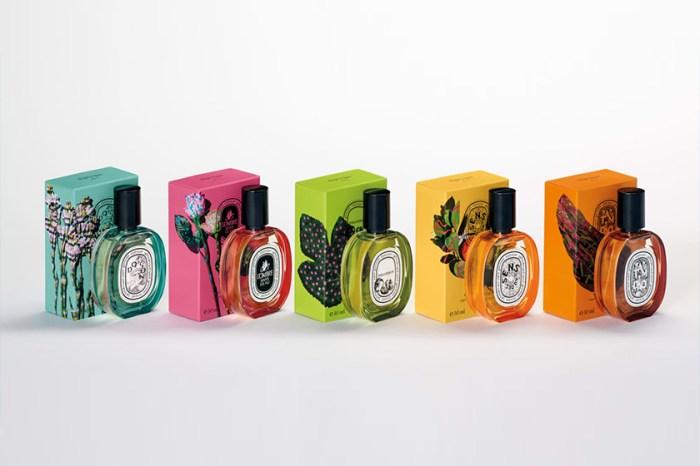 清淡的迷人氣息:diptyque 「彩虹瓶身」限定香水系列,宛若一張張浪漫色票!