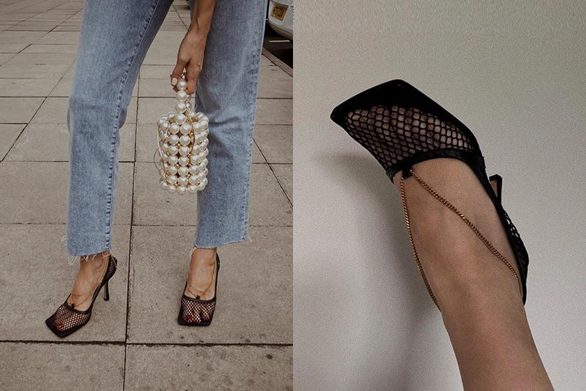 Bottega Veneta square toe shoes