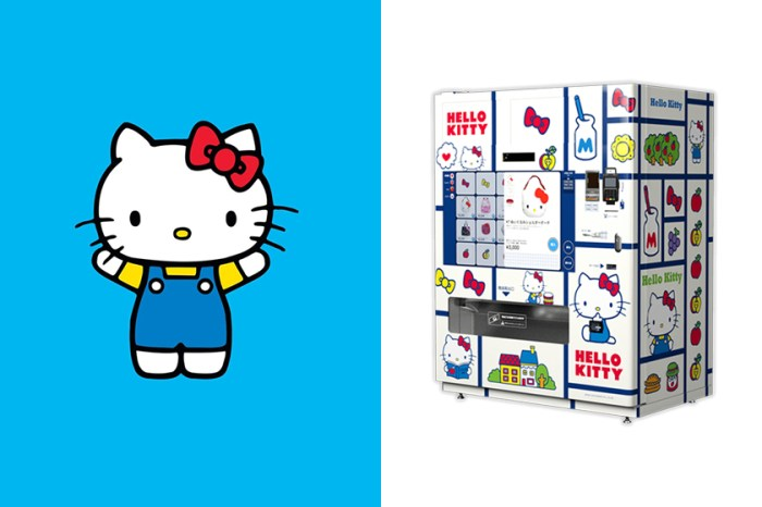 日本大阪街頭出現了第一台「Hello Kitty 自動販賣機」,登上熱門討論話題!