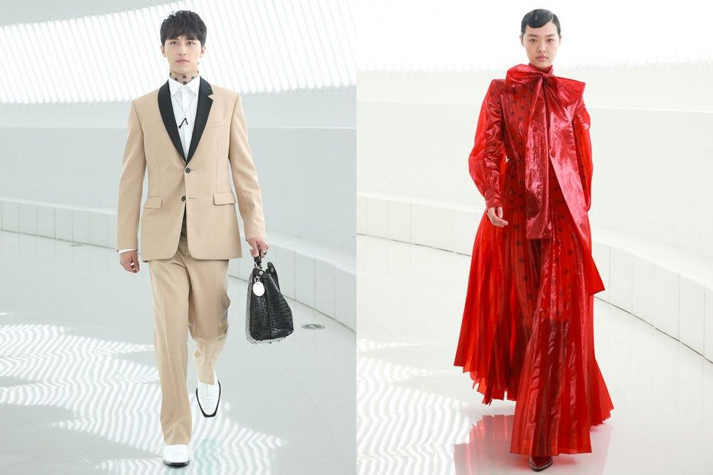 gong li fendi shanghai fashion show 2019