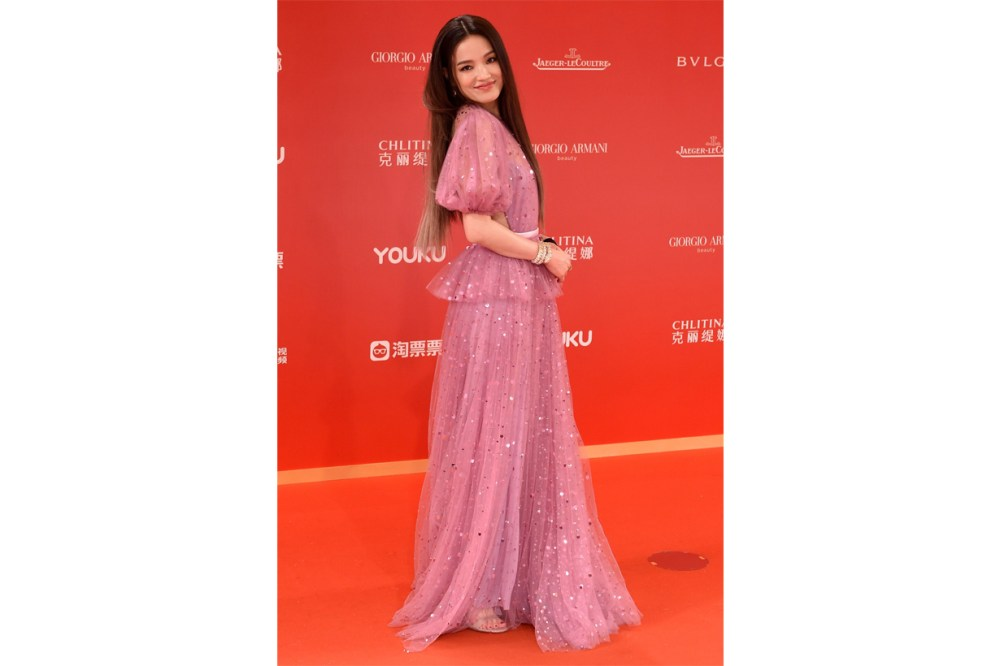 Shu Qi Shanghai International Film Festival Red Carpet Look negative comments Taiwan Actress celebrities styles
