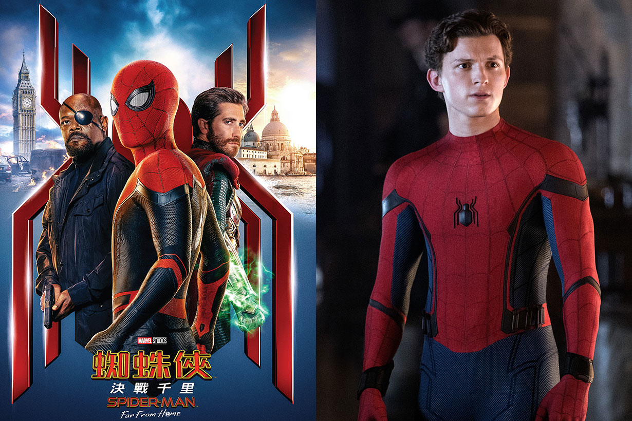 spider man far from home marvel love you 3000