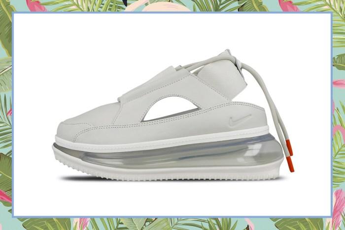 女生夏天的救星!Nike 推出「涼鞋+波鞋」,增高氣墊還能顯腿長!