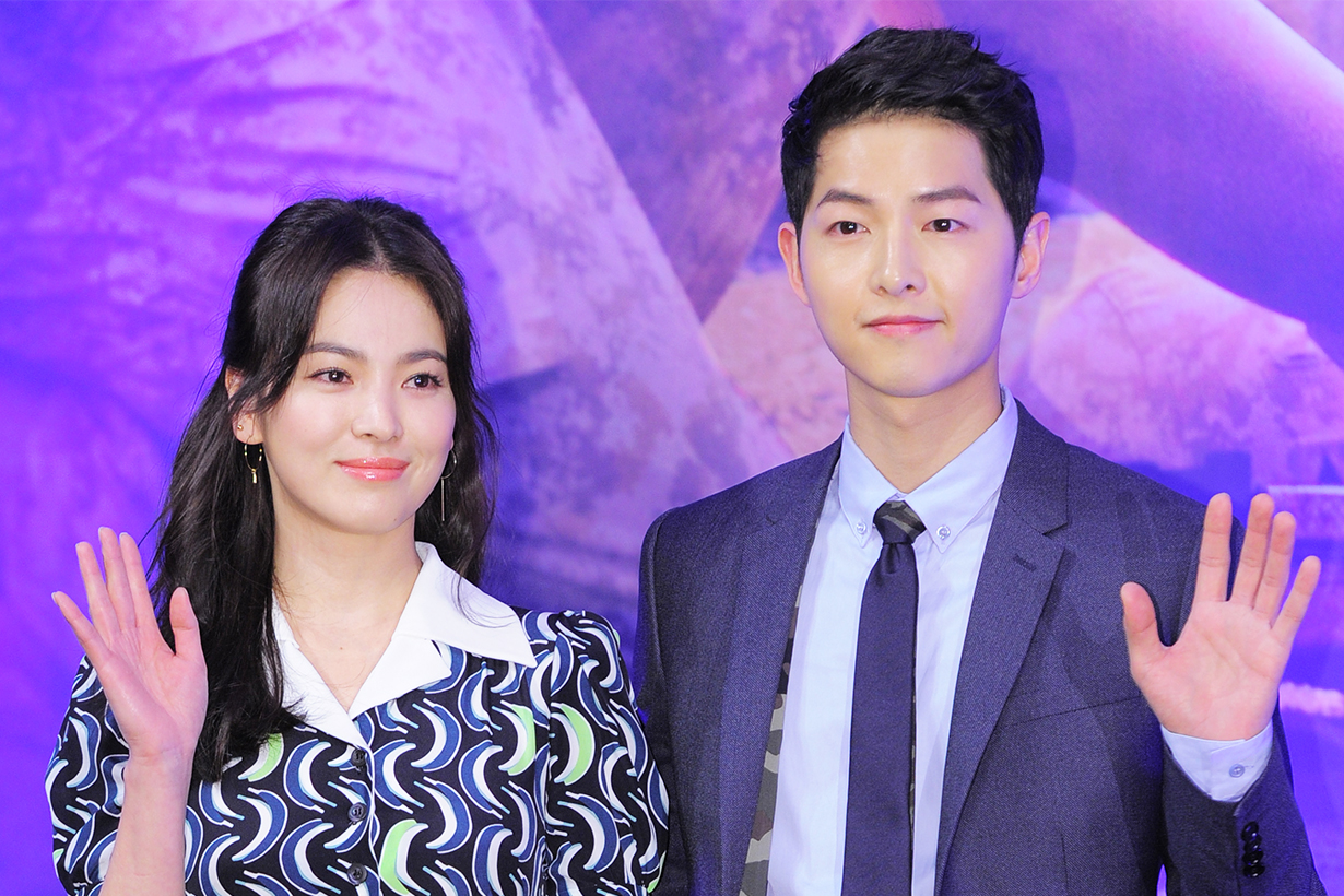 Song Joong Ki Song Hye Kyo divorce third wheel pregnant rumours k pop korean idols celebrities actress actors