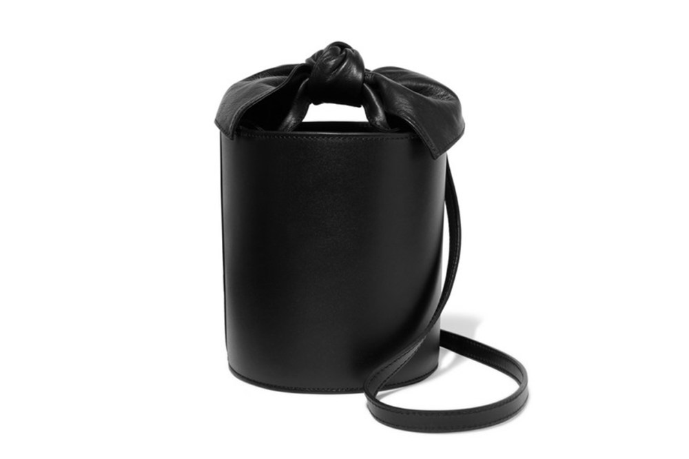 Sophie Mini Leather Bucket Bag