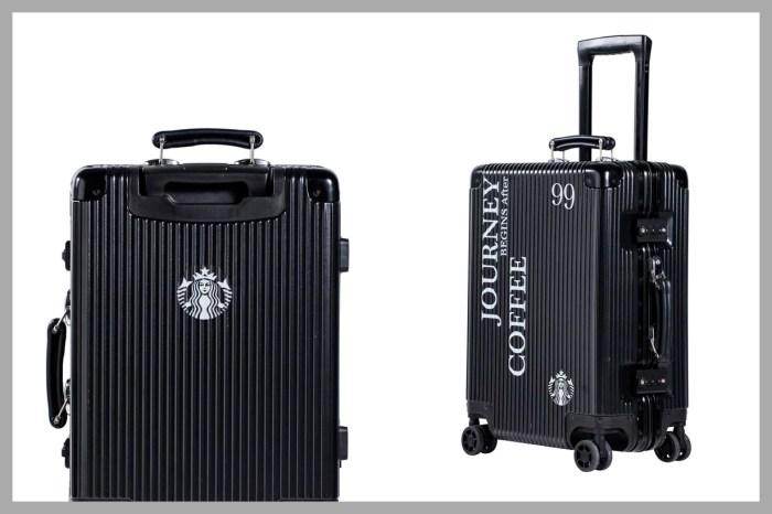 Starbucks 這次不賣咖啡…推出行李箱!限量 100 個,每只都有專屬編號