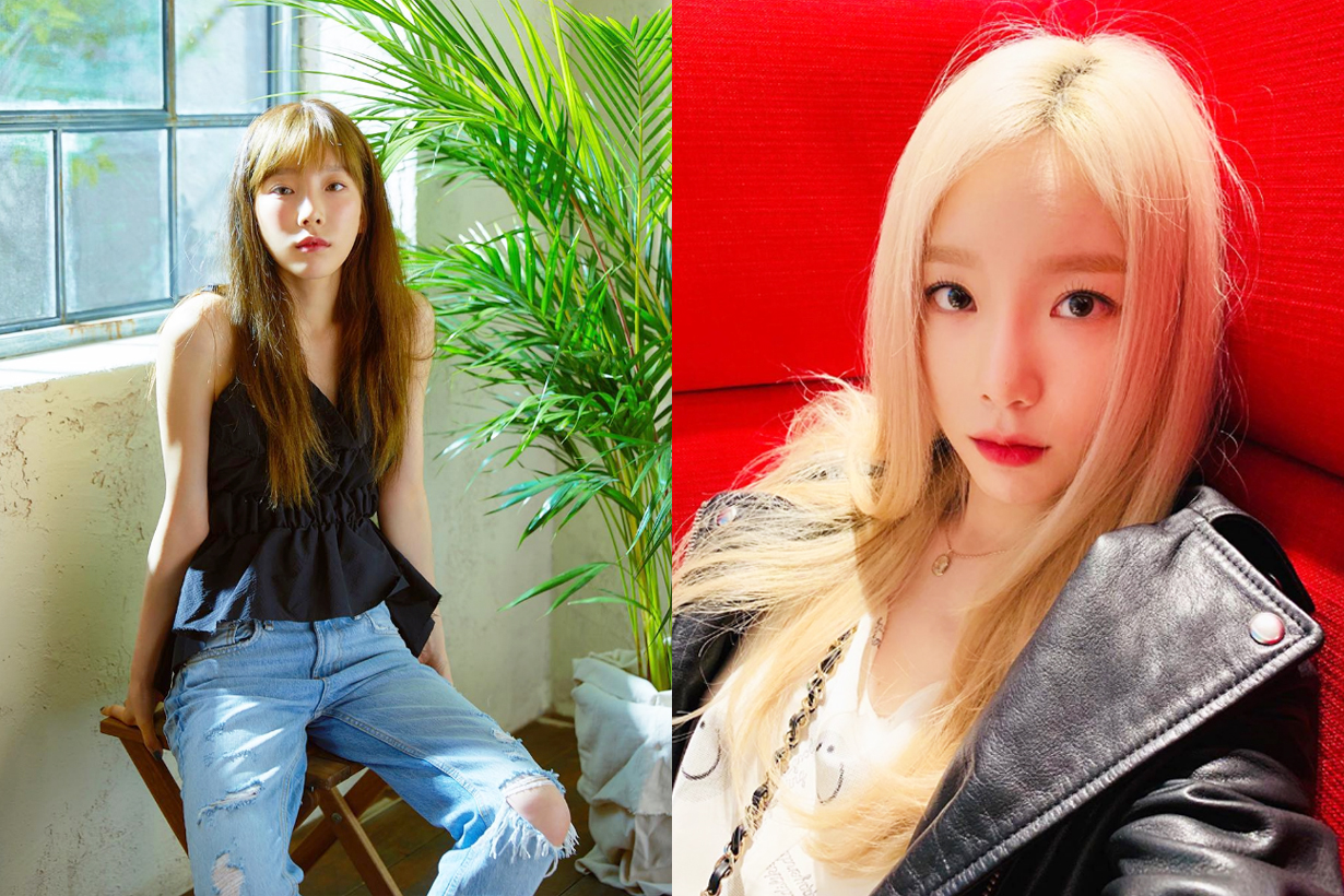 Taeyeon girls generation depression Germany street busking Adele When We Were Young attracting pink hair k pop korean idols celebrities singers girl bands