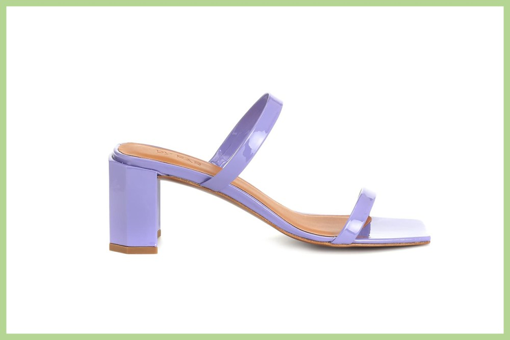 Tanya Patent Leather Mules