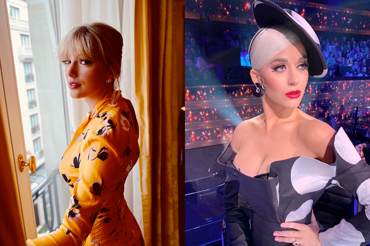 taylor swift katy perry actually friends feud over