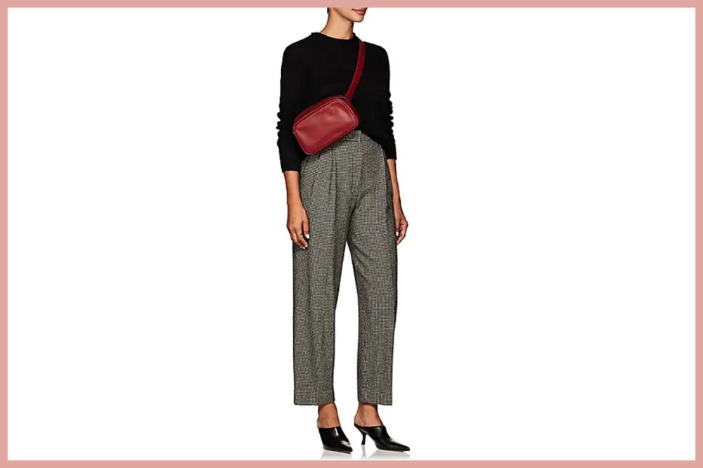 THE ROW Nica Houndstooth Trousers
