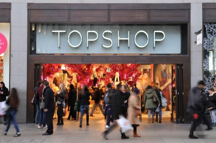 Topshop 終於有救?獲得業主減租,但集團仍未能鬆一口氣!