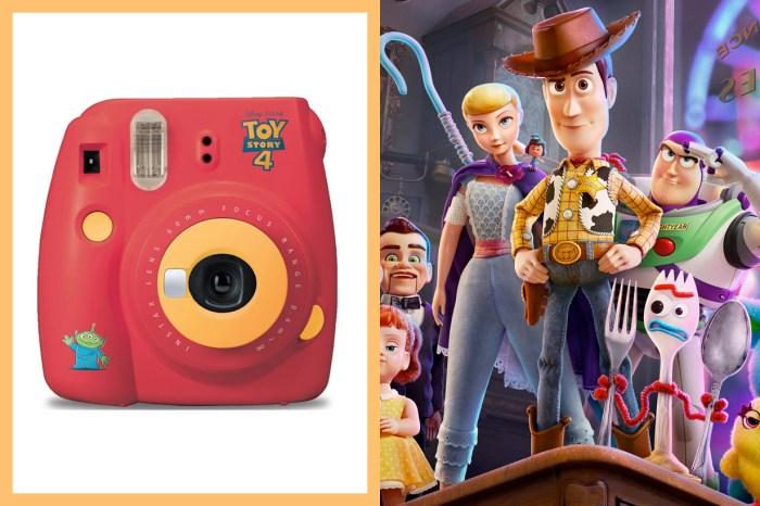 這配色和插畫可愛到爆燈,《Toy Story 4》攜手 Fujifilm 推出即影即有相機!