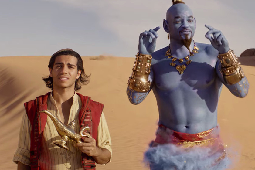 Will Smith Aladdin movie princess jasmine
