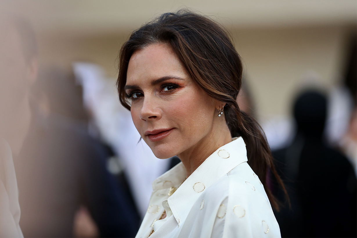 Victoria Beckham Broke the Traditional Wedding Guest Rule Wearing White Dress