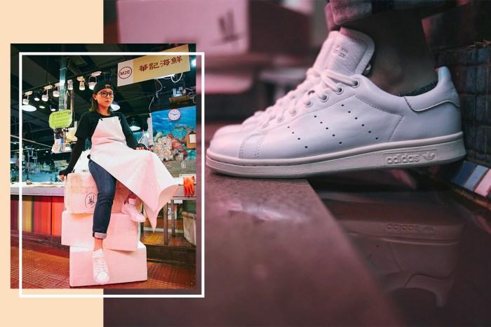 賣魚也可穿得潮!這位在街市工作的女生也被 adidas Originals 看中了