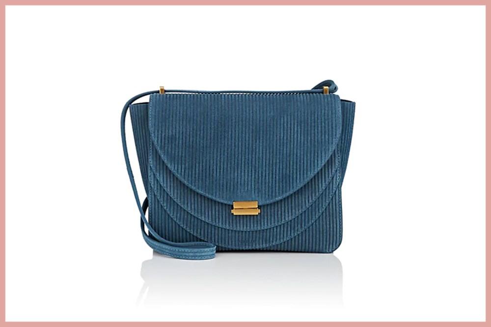 WANDLER Luna Suede Shoulder Bag