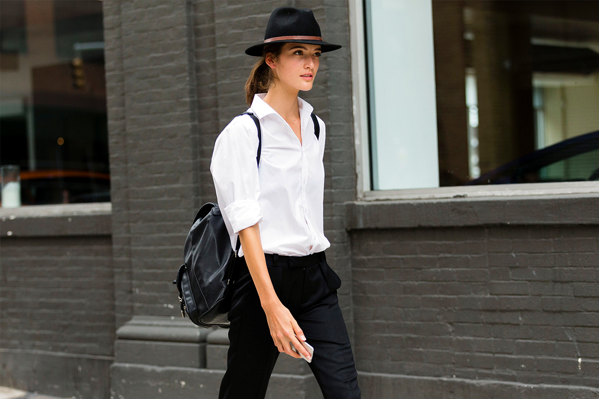 White Shirt Street Style Fashion Tips