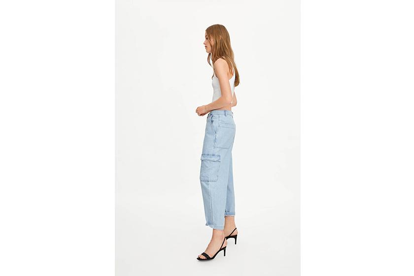 Zara Denim Baggy Jeans