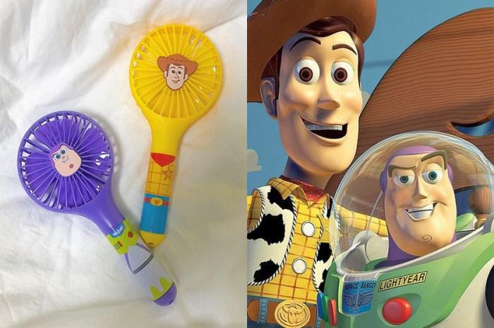 《Toy Story》熱潮:韓國便利店推出巴斯、胡迪造型風扇,女生們都瘋狂了!
