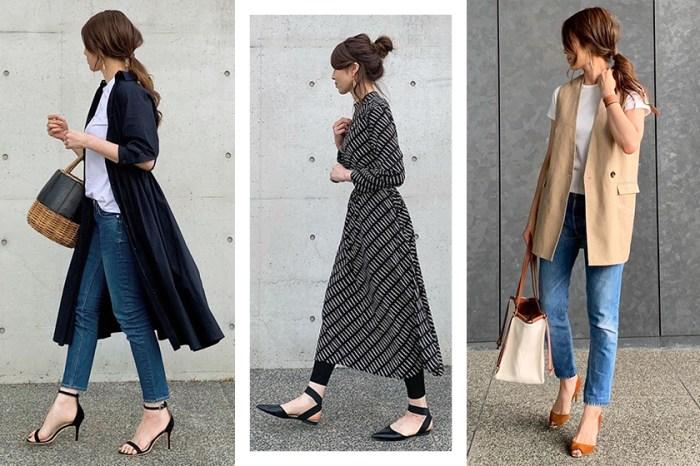 用基本款穿出優雅魅力:上班族女生都想偷師這位日本博主的辦公室穿搭!
